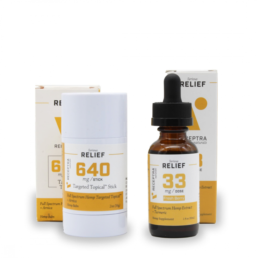 CBD Pain Relief Set