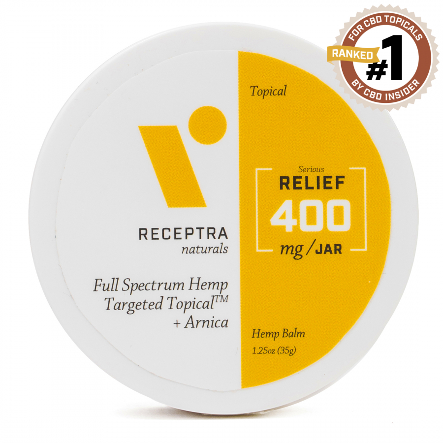 Serious Relief + Arnica Targeted Topical Balm