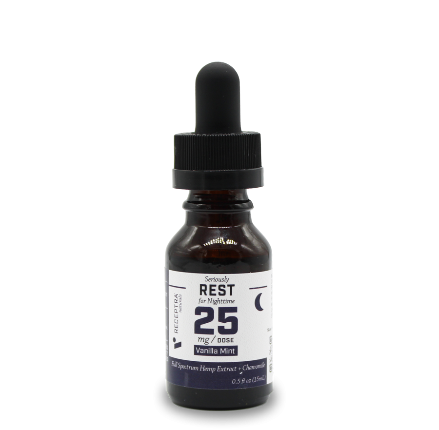 Serious Rest + Chamomile Tincture 25mg /dose (.5 oz.)